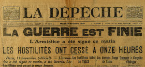 Commémoration de l'Armistice de 1918 @ Place Charles de Gaulle